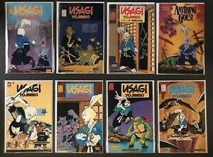 Usagi Yojimbo Lot - Issues 4,8,10,22,23,24, Color Special #1, Anything Goes #6!