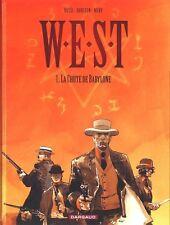BD DARGAUD--EO--WEST / TOME 1 - LA CHUTE DE BABYLONE--ROSSI/DORISON/NURY