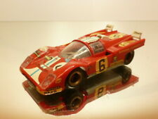 SUPER CHAMPION FERRARI 512M #6 - RED1:43 - GOOD CONDITION