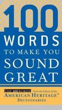 NEW - 100 Words to Make You Sound Great