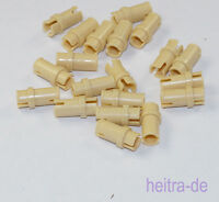 LEGO Technik - 20 x Pin / Pins 3/4 beige / Tan / 32002 NEUWARE