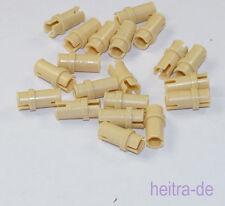 Tecnologia LEGO - 20 x pin/pin 3/4 colori sabbia/TAN/32002 Merce Nuova