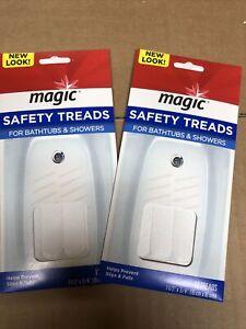 2 Pack Magic Bathtub / Tub & Shower Safety Treads Brand New