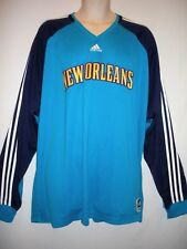 NEW WITH TAGS! New Orleans Hornets Long Sleeve Warm Up Shooter, Size 2XL