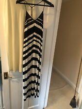 Vintage Gianfranco Ferre Black & White Maxi Dress