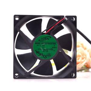 1pc ADDA AD08012HX257000 8025 8CM 12V 0.17A 2-wire Silent Cooling Fan