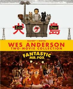 WES ANDERSON TWO-MOVIE COLLECTION: ISLE OF DOGS/FANTASTIC MR. FOX NEW BLU-RAY DI