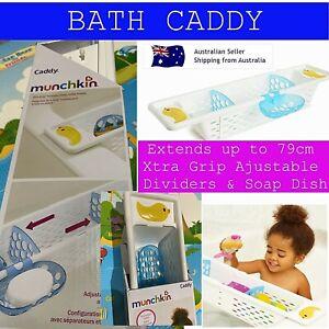 CADDY Baby Bath Caddy Munchkin Caddy Xtra Grip Bath Duck Quack Bath Toys Storage