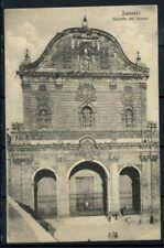 Italia Regno 1910 Sass. Z157 Cartolina 100% Sassari - Faciata del Duomo - viagg