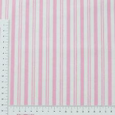 Streifen Weiß Rosa Serie Sadle Dance 100% Baumwolle Patchwork Stoff