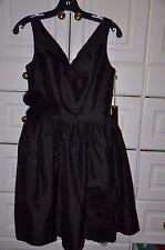 NWT Alexia Admor New York Gorgeous Black Cocktail Dress Sz XS  (0-2)