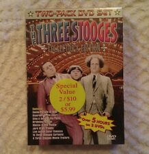 The Three Stooges DVD Set Collector's Edition - Jerk of All Trades - 5 Hours NEW