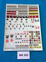 Warhammer 40K - Space Orks - Transfer Sheet - WK502