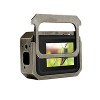 Shockproof for GoPro Hero 8 Camera Metal Case Housing Cage Hollow Backdoor