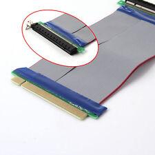 PCI-E Express 16X Riser Karte Verlängerungskabel Extender Flachbandkabel Adapter
