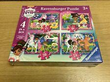 ravensburger puzzle Nella Princess Knight 4 in a box