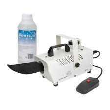 QTX SW400 Snow Machine Snowing Effect White Christmas Party inc 1L Fluid