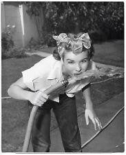 Photo Jean Peters - Epreuve argentique d'époque - Pin Up - 1952 -