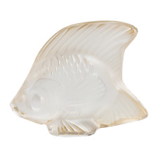 "LALIQUE GOLD LUSTER ""FISH"" SCULPTURE.  Ref: 10543400  RRP £65"