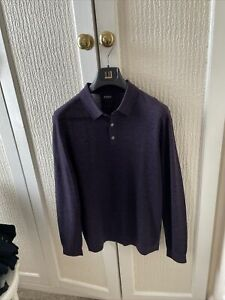 Men's Nicole Farhi Pure Merino Jumper Size Medium New