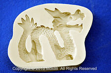 Sugarcraft Molds Silicone Moulds Cupcake, Clay,Chocolate,soap -Dragon #2