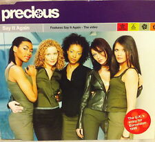Eurovision UNITED KINGDOM 1999 PRECIOUS Say It Again CD single