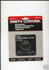 """SMITH CORONA """"H"""" SERIES PRINTWHEEL LETTER GOTHIC 10/12"""