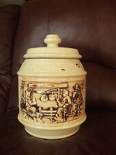 Vintage McCoy Early American Frontier Family Cookie Jar. Excellent!