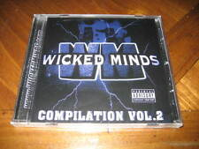 Chicano Rap CD Wicked Minds Compilation Vol. 2 - BABY WICKED Chino Grande WRECK