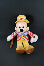 "Mickey Mouse Main Street 17"" Plush Vintage Disney Store - NWT"