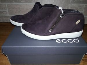 Ecco Women's Soft 7 Low Cut Zip Fashion Sneaker Fig Size 5 - 5.5