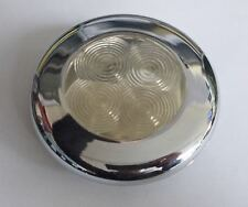 Lalizas chrome cabin light with red LEDs for boat, yacht etc.
