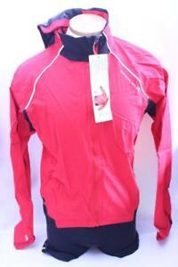 New Endura Men's Helium Jacket Small Red Cycling Bike Lightweight Waterproof