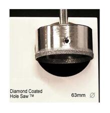 C-CUT TOOLS 63MM DIAMOND COATED HOLE SAW #DCHS63S