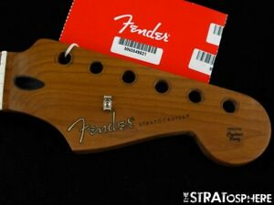 "2020 Fender Player Stratocaster Strat NECK 9.5"" Radius ""C"" LTD. Roasted Maple"
