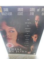 TRIAL BY JURY - 1995 WARNER BROTHERS BIG BOX EX RENTAL VHS TAPE PAL SYSTEM