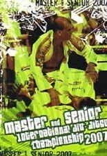 MASTER & SENIOR INTERNATIONAL JU-JITSU CHAMPIONSHIP 2007 – DVD, 220 MINUTES