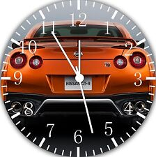 "Nissan GTR wall Clock 10"" will be nice Gift and Room wall Decor E193"