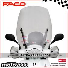 LASTRA PARABREZZA PARAVENTO FACO PER HONDA SH 125 150 ABS 2013 - 2016 33271