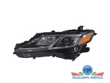 OEM Headlight- Toyota Camry LED (Black) USA Built (W/O Integrated LED DRL) 18 Lh