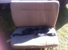 rear van seat, 2 seater, with seat belts fits hiace/mazda/mitsubishi/ford/nissan