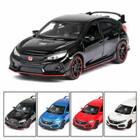 Honda Civic Type R 1:32 Scale Model Car Diecast Toy Vehicle Collection Gift Kids