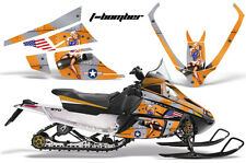 AMR Racing Sled Wrap Arctic Cat F Series Snowmobile Graphic Kit All Years TBOM O
