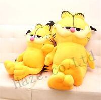 Garfield Plush Toy Cute Cat Stuffed Doll Animal Rare Figure Gift for Kids 5 Size