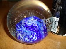[ NASA ] SATELLITE- EOS TERRA - SLC-3E 1ST LAUNCH, Clear Glass Paperweight, VINT