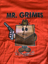 Mr Grimes Mr Men The Walking Dead Tshirt