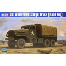 US WHITE 666 CARGO TRUCK (HARD TOP) HOBBY BOSS 1/35 PLASTIC KIT
