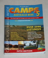 Book - The Trvallers Bible - CAMPS AUSTRALIA WIDE 5  - over 3500 listings