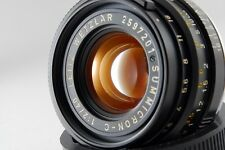 =NEAR MINT Leitz Wetzlar Summicron-C 40mm f/2 Lens Leica M CL CLE from Japan#o35