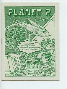 Planet P. mini comic Art Penn 1996 VF